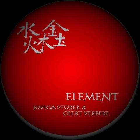 Jovica Storer - Geert Verbeke - Element - cover